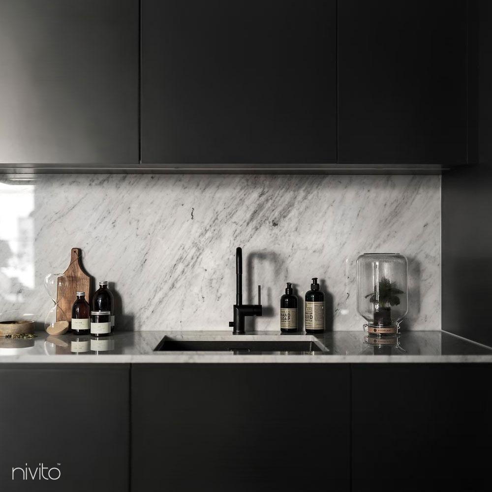 Sort Kran - Nivito 8-RH-320