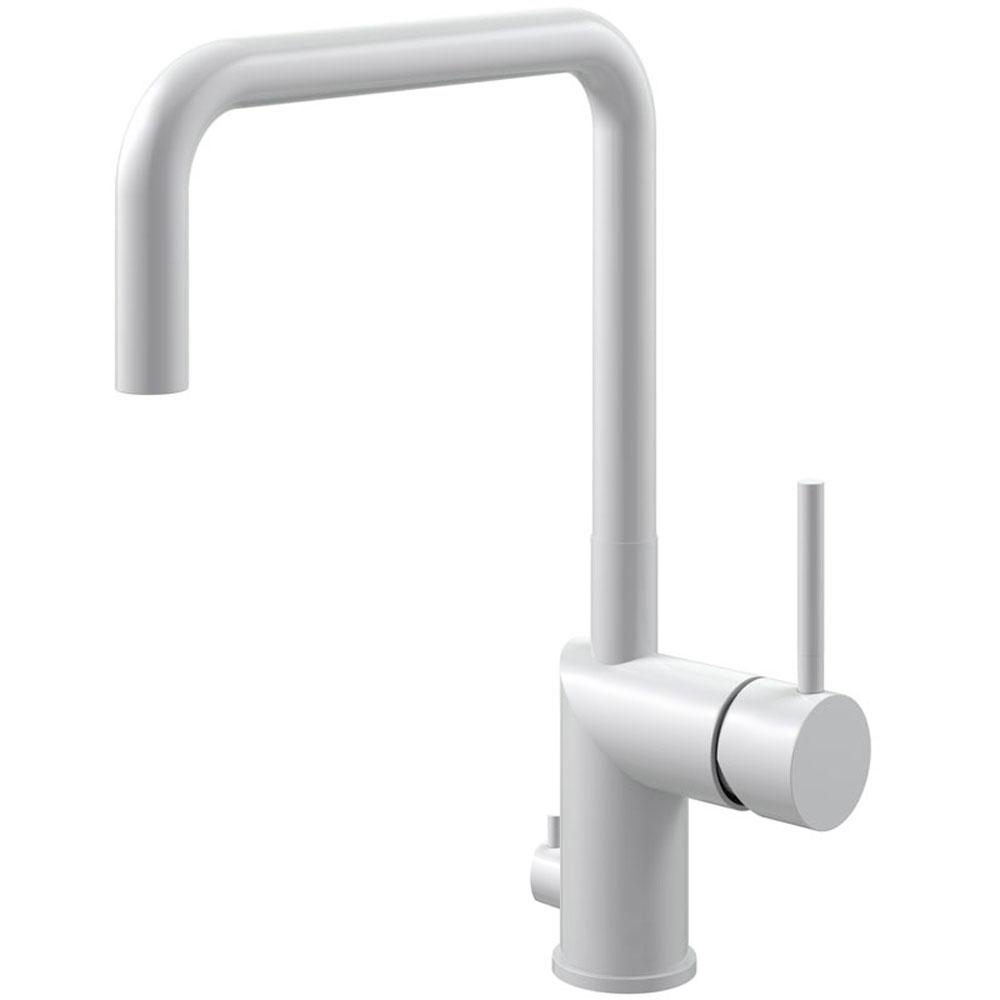 Hvit Blandebatteri Med avstengning for oppvaskmaskin - Nivito RH-335