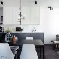 Sort Kjøkkenbatteri - Nivito 11-RH-320