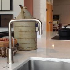 Rustfritt Stål Kjøkkenbatteri - Nivito 3-RH-300