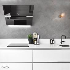 Sort Kjøkkenbatteri - Nivito 3-RH-320