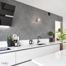 Sort Kjøkkenbatteri - Nivito 4-RH-320