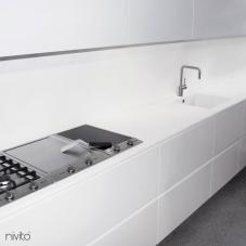 Rustfritt Stål Kjøkkenbatteri - Nivito 5-RH-300