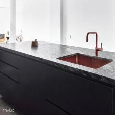 Kjøkkenvask kobber