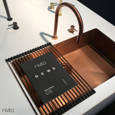 Kobber Kjøkkenvask - Nivito 1-CU-700-BC