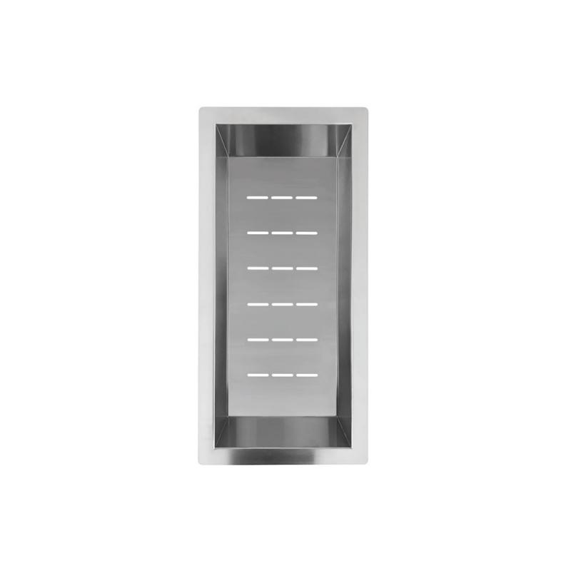 Rustfritt Stål Skylleskål - Nivito CU-WB-200-B