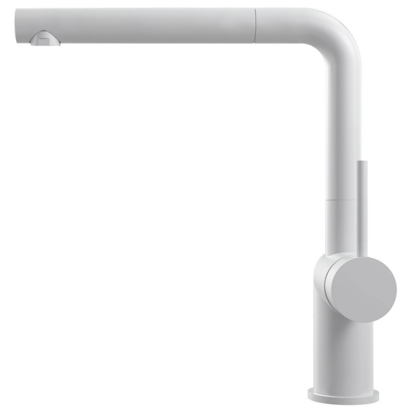 Hvit Kjøkkenbatteri Pullout slange - Nivito RH-630-EX