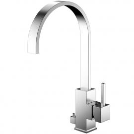 Rustfritt Stål Kjøkkenbatteri Med avstengning for oppvaskmaskin - Nivito RE-105