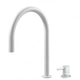 Hvit Kjøkkenarmatur Pullout slange / Atskilt kropp/pipe - Nivito RH-130-VI