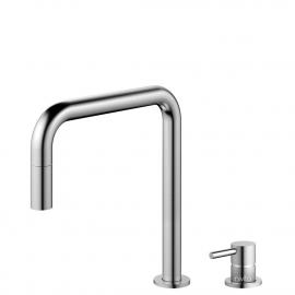 Rustfritt Stål Kjøkkenarmatur Pullout slange / Atskilt kropp/pipe - Nivito RH-300-VI