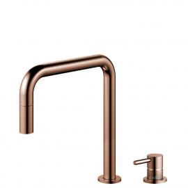 Kobber Kjøkkenarmatur Pullout slange / Atskilt kropp/pipe - Nivito RH-350-VI