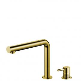 Messing/Gull Kjøkkenbatteri Pullout slange / Atskilt kropp/pipe - Nivito RH-640-VI